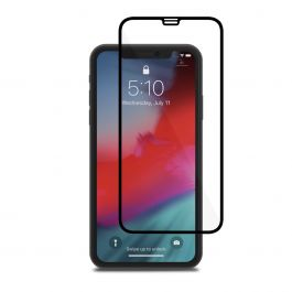 Moshi - IonGlass üvegfólia - iPhone X/XS - fekete