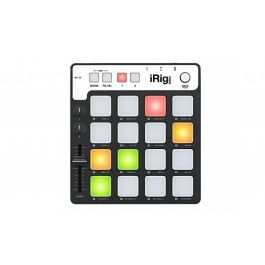 IK Multimedia iRig Pads portable universal MIDI groove controller for iPhone, iPad