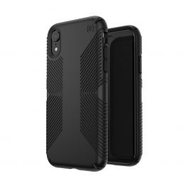 Speck – Presidio Grip iPhone XR tok – fekete