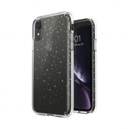 Speck – Presidio Clear + Glitter iPhone XR tok – átlátszó / arany glitter