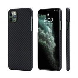 Pitaka – MagEZ iPhone 11 Pro Max aramid tok – fekete