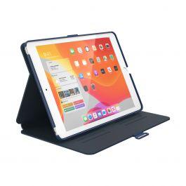 Speck – Balance Folio iPad (7. és 8. generáció) kihajtható tok – kék / szénszürke