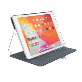 Speck – Balance Folio Clear iPad (7. és 8. generációs) tok - karbon sötétszürke / áttetsző