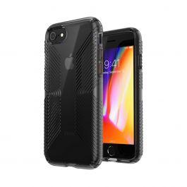 Speck – Presidio Perfect Clear + Grip iPhone SE tok - obszidián