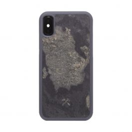 Woodcessories – Bumper iPhone X / XS tok - szürke palakő