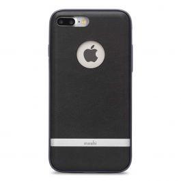 Moshi - Napa bőrtok - iPhone 7 Plus - Fekete