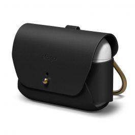 Elago – Airpods Pro bőr tok - fekete