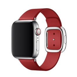 Apple Watch 40mm Band: (PRODUCT)RED Modern Buckle Band - Small