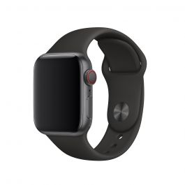 Apple Watch 44mm Band: Black Sport Band - S/M & M/L (DEMO)