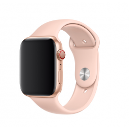 Apple Watch 44mm Band: Pink Sand Sport Band - S/M & M/L