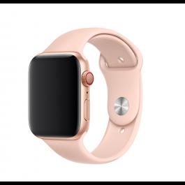 Apple – 44 mm-es, rózsakvarcszínű sportszíj