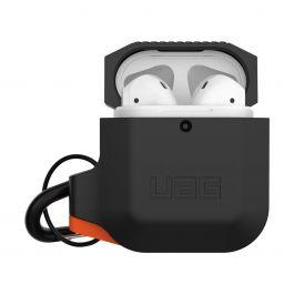 UAG – AirPods szilikon tok – fekete / narancs