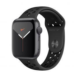 Apple Watch Series 5 Nike+ GPS, 40 mm-es, asztroszürke alumíniumtok fekete sportszíjjal