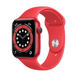Apple Watch Series 6 GPS – 40 mm-es (PRODUCT)RED alumíniumtok, (PRODUCT)RED sportszíj