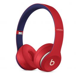 Beats Solo3 Wireless Headphones - Beats Club Collection - Club Red