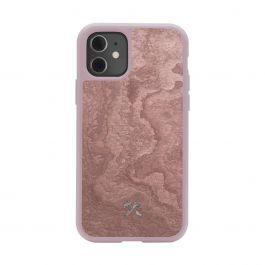 Woodcessories – Bumper iPhone 11 tok - kanyonvörös palakő