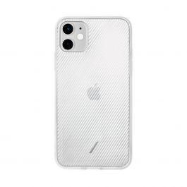 Native Union – Clic View iPhone 11 áttetsző tok – fehér