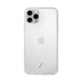 Native Union – Clic View iPhone 11 Pro áttetsző tok – fehér