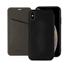 EPICO – iPhone XS Max kinyitható tok – fekete (Guarantee Program)