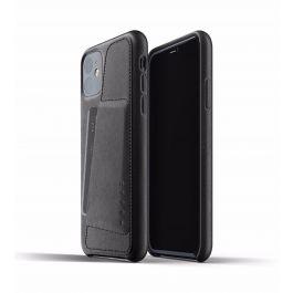 Mujjo - iPhone 11 bőrtok kártyatartóval
