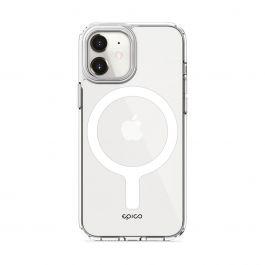EPICO – Hero Magsafe-rögzítésű iPhone 12 mini tok - Átlátszó
