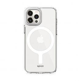 EPICO – Hero Magsafe-rögzítésű iPhone 12 Pro Max tok - Átlátszó