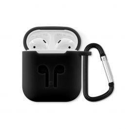 iSTYLE - Outdoor ütésálló AirPods szilikon tok - fekete