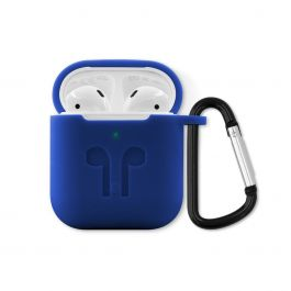 iSTYLE – Outdoor ütésálló AirPods 2 szilikon tok - kék