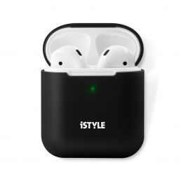iSTYLE - AirPods 2 szilikon tok - fekete