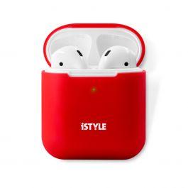 iSTYLE - AirPods 2 szilikon tok - piros
