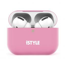 iSTYLE – AirPods Pro szilikontok – rózsaszín