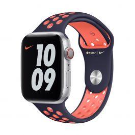 Apple – 44 mm-es kékesfekete-ragyogó mangó Nike sportszíj