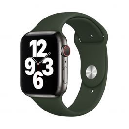 Apple – 44 mm-es ciprusi zöld sportszíj