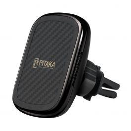 Pitaka – MagEZ Qi szellőzőnyílásra szerelhető mágneses autós tartó és töltő