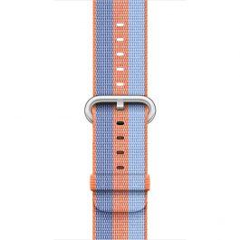 DEMO - Apple 38 mm-es szőtt műanyag szíj - narancsszínű