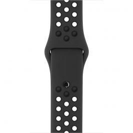 Apple - 42 mm-es, antracit–fekete Nike sportszíj