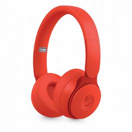 Beats – Solo Pro Wireless zajszűrős fejhallgató – More Matte Collection – Piros