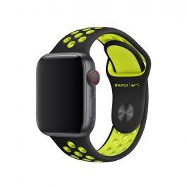 Apple – 40 mm-es fekete-neonzöld Nike sportszíj