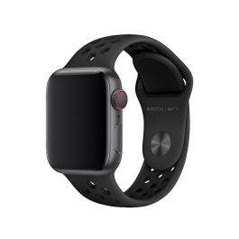 Apple – 40 mm-es antracit-fekete Nike sportszíj
