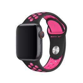 Apple – 40 mm-es fekete-rózsaszín robbanás színű Nike sportszíj