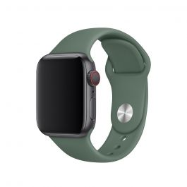 Apple Watch 44mm Band: Pine Green Sport Band - S/M & M/L (Seasonal Autumn 2019)