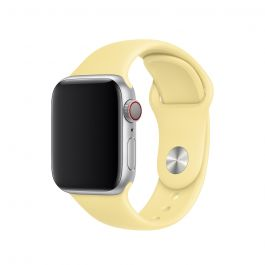 Apple Watch 40mm Band: Lemon Cream Sport Band - S/M & M/L (Seasonal Autumn 2019)