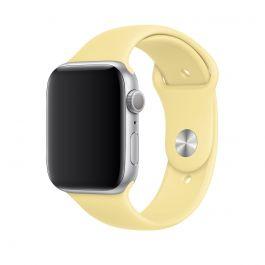 Apple Watch 44mm Band: Lemon Cream Sport Band - S/M & M/L (Seasonal Autumn 2019)