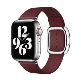 Apple – 40 mm-es gránátvörös szíj modern csattal – nagy