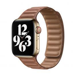 Apple – 40 mm-es vörösesbarna bőrpánt – nagy