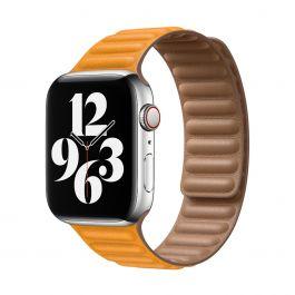 Apple – 44 mm-es kaliforniai pipacs bőrpánt – kicsi