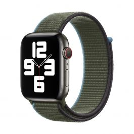 Apple – 44 mm-es invernessi zöld sportpánt