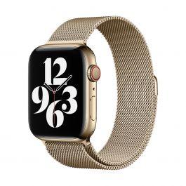 Apple – 44 mm-es aranyszínű milánói szíj