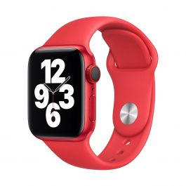 Apple - (PRODUCT)RED 40 mm-es sportszíj - S/M és M/L