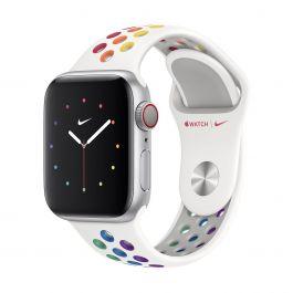 Apple – 40 mm-es Pride Edition Nike sportszíj